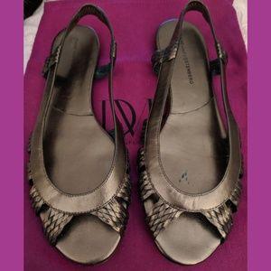 Diane von Furstenberg flat Slingback sandals